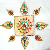 Abstract Rangoli