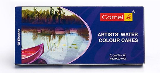 Artists' Water Colour Cake 18 Shades