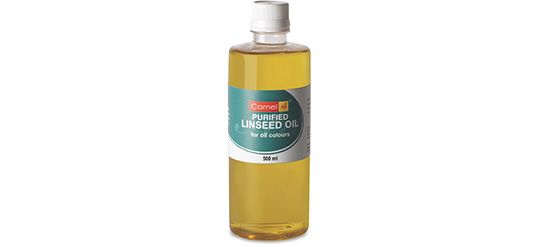 CAMEL PURIFIED LINSEED OIL 500ml