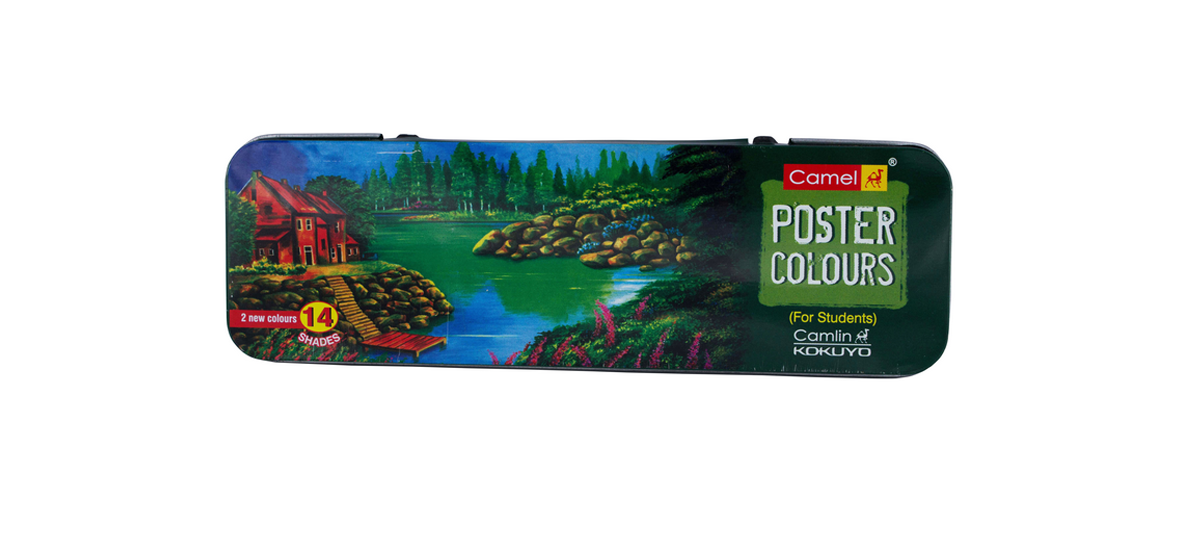 Premium Poster Colour 12 shade trial pack (10ml)