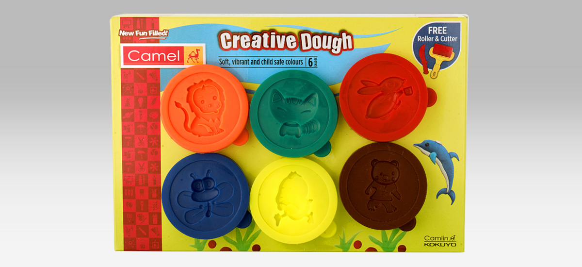 Camel Creative dough 6 shades